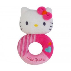 Doudou Hochet Hello Kitty