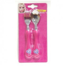 Set de 2 couverts Barbie